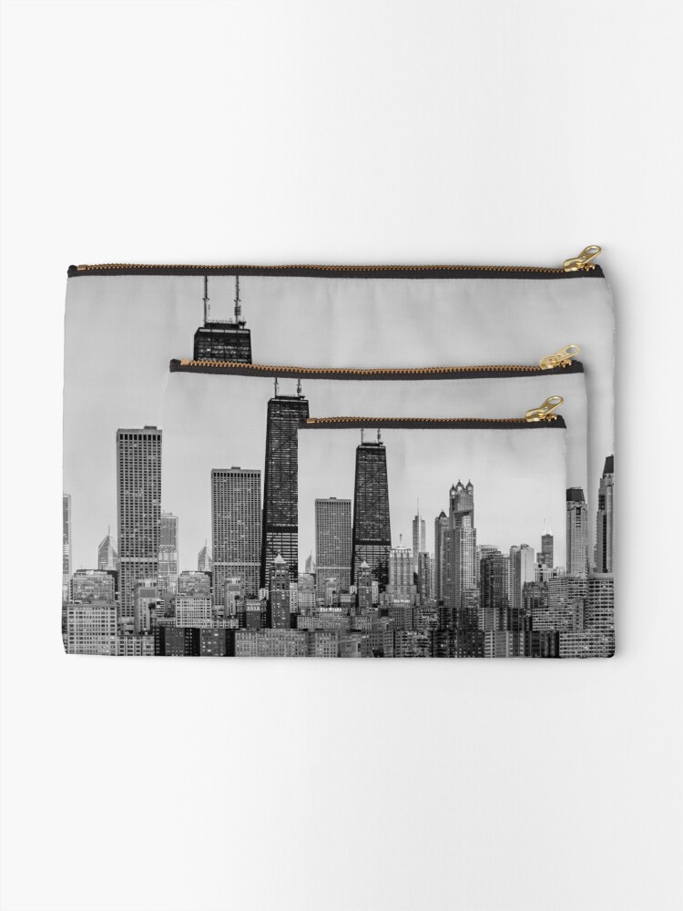 Alternative Ansicht von Chicago Seeseite Täschchen