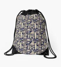 Lightbulb Pattern Drawstring Bag