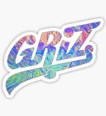GRIZ Colorful Sticker Sticker