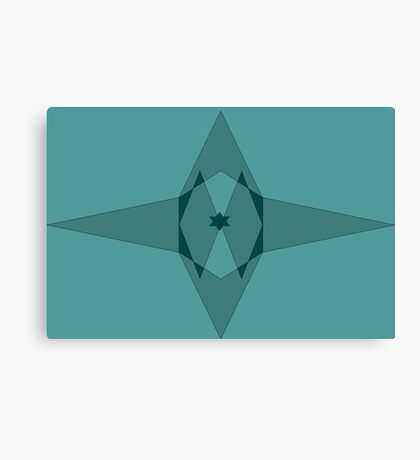star shapes Canvas Print