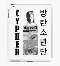 BTS - CYPHER - RM - Agust D - Hoffnung Welt iPad-Hülle & Klebefolie