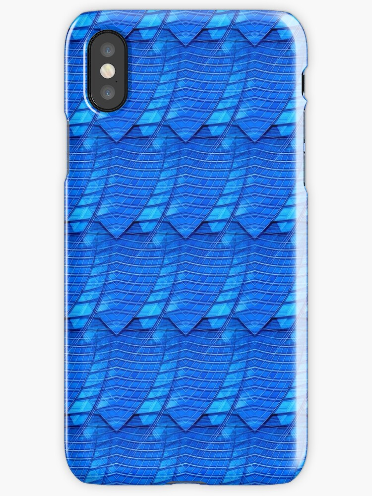 Lost in Blue - af 12 iPhone Case by Aimelle