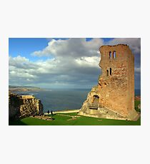Scarborough Castle Photographic Print