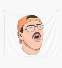 Julien Coughing Wall Tapestry