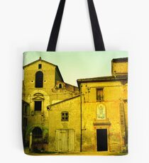 Lombardy Yellow Tote Bag