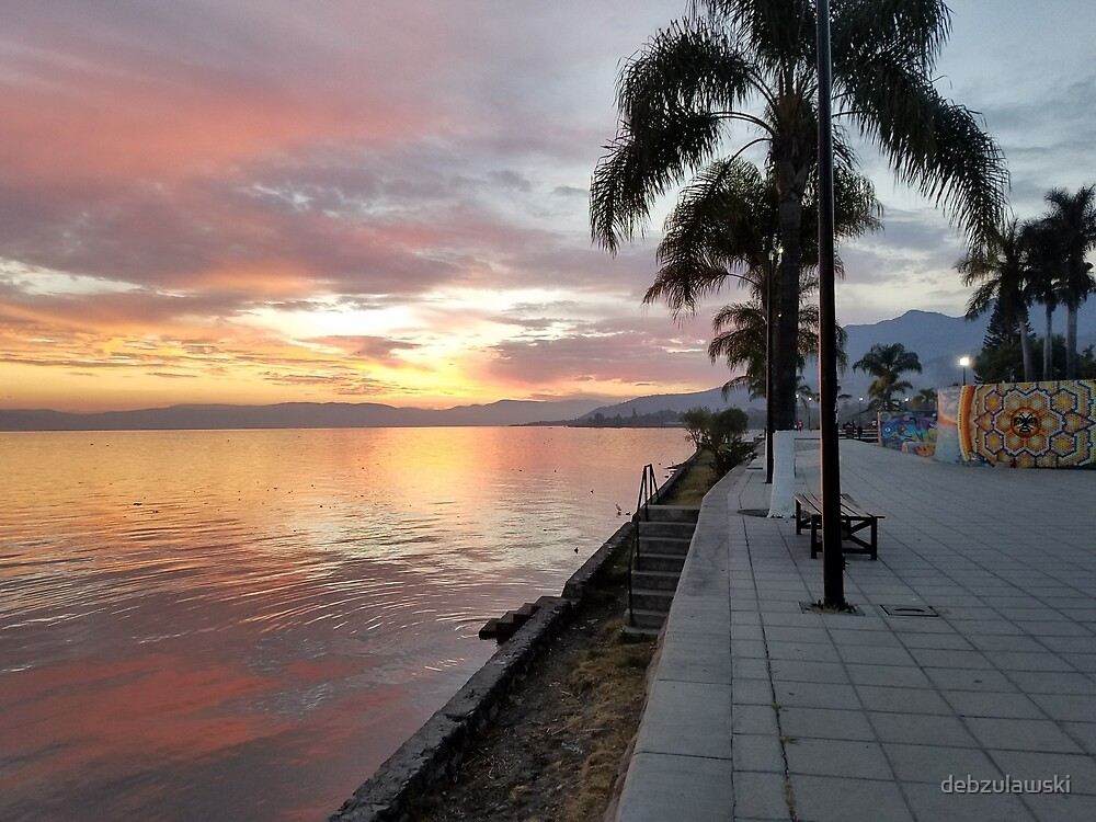 Ajijic, Lake Chapala, Mexico by debzulawski