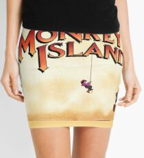 Monkey Island - Treasure found! Mini Skirt