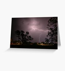 Lightening Greeting Card