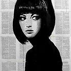 girl in black by Loui  Jover