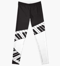 PIANO KEYS Pop Art Leggings