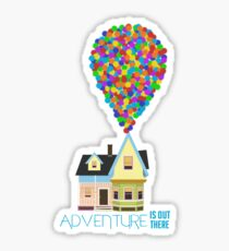 Adventure is Out There Sticker