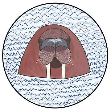 Wading Walrus by jackbattle6