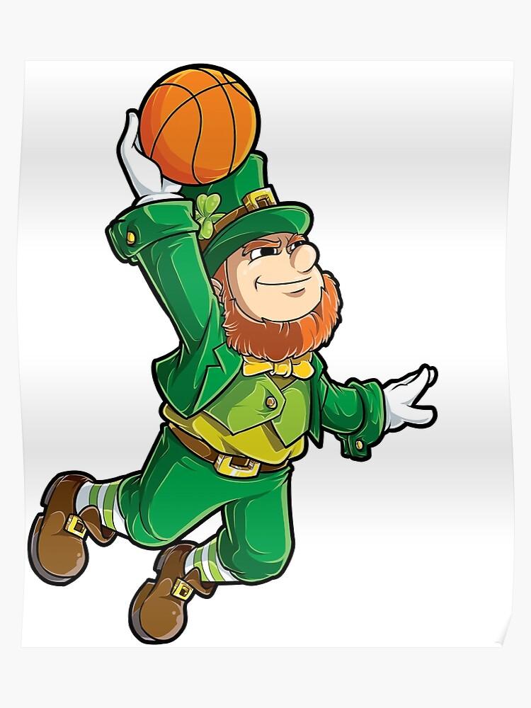 2e0707a11 Leprechaun Basketball T Shirt St Patricks Day Boys Kids Men