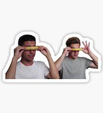 cringe goggles Sticker