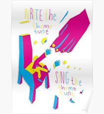 Write the Feem Tune, Sing the Feem Tune Poster