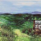 Moorland 5 by Carol Rowland