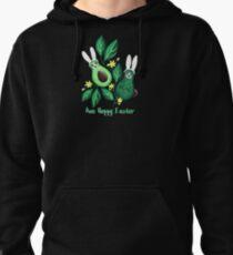 Avo Hoppy Easter | Avocado Easter Bunnies Pullover Hoodie