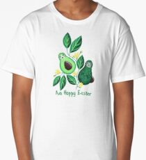 Avo Hoppy Easter | Avocado Easter Bunnies Long T-Shirt