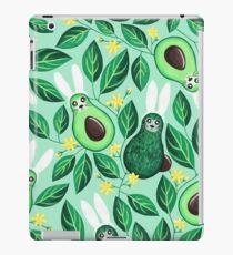 Avo Hoppy Easter | Avocado Easter Bunnies iPad Case/Skin