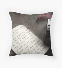 the cup Throw Pillow