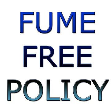 Fume Free Policy by InitiallyNO