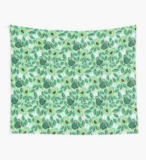 Avo Hoppy Easter | Avocado Easter Bunnies Wall Tapestry
