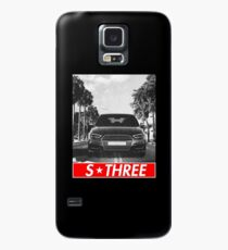A3 S3 8V & quot; Redstriped & quot; Case/Skin for Samsung Galaxy