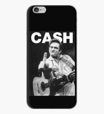 Johnny Cash mit Logo iPhone-Hülle & Cover