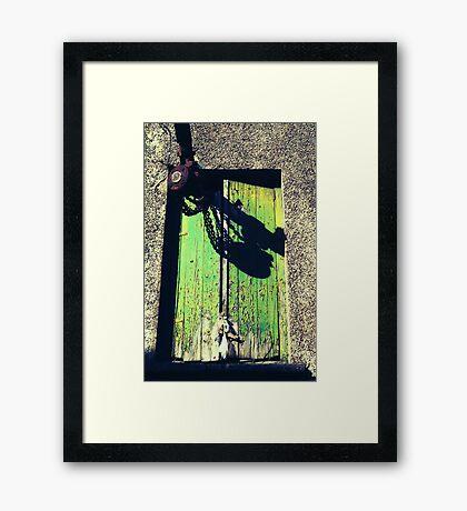 Shakin Stevens On Acid Framed Print