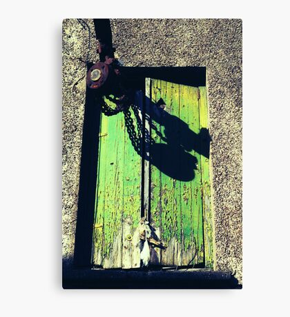 Shakin Stevens On Acid Canvas Print