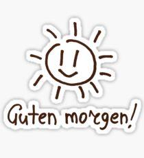 Guten Morgen! Sticker