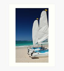 Wind In My Sails Art Print