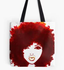Natural Hair Curly Hair Autumn Afro Tshirt/Tees T-Shirt Tote Bag
