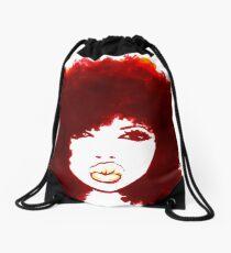 Mochila saco Cabello natural rizado cabello otoño Afro camiseta / camisetas camiseta