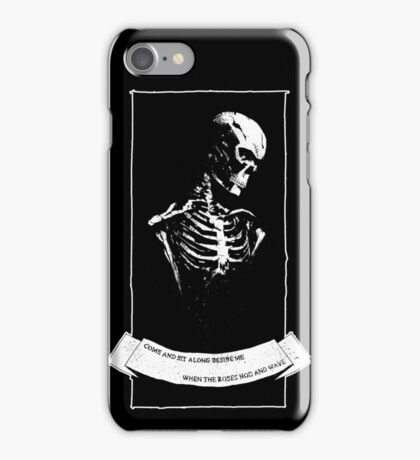 Perhaps You'll Plant A Flower iPhone Case/Skin