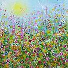 Flower Meadow II by Penny Bonser