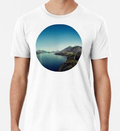 Auf dem Weg nach Glenorchy (Dinge sind mir passiert) Premium T-Shirt