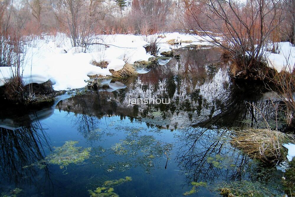 Mountain Reflection/noitcelfeR niatnuoM  by jansnow