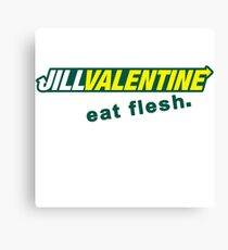 Jill Sandwich - Eat Flesh! Canvas Print