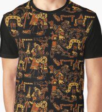 Aztec Art. Graphic T-Shirt