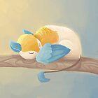 Snuggly Gryphon by Ashley Dadoun