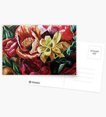 Floral Painting Postcards
