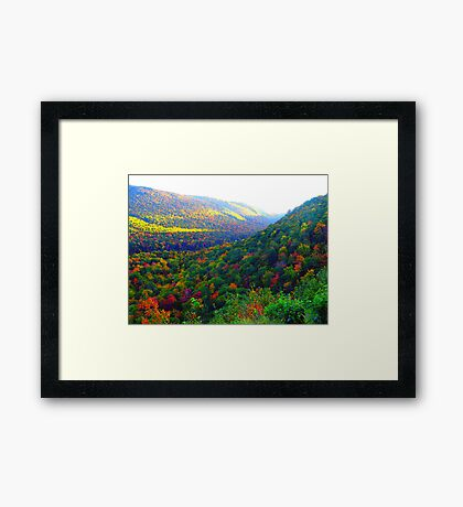 Autumn's Glory Framed Print