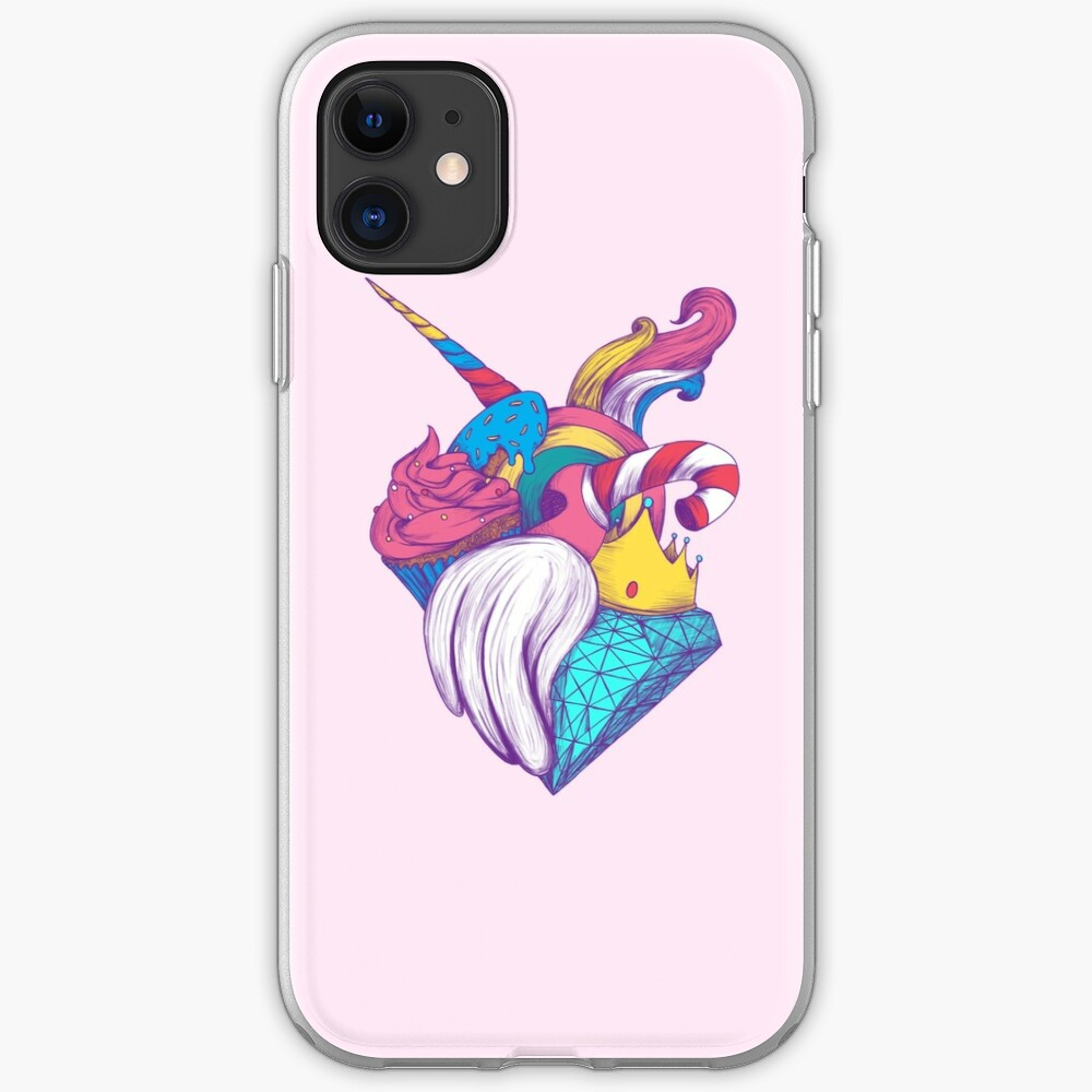 UNICORN HEART iPhone Case & Cover