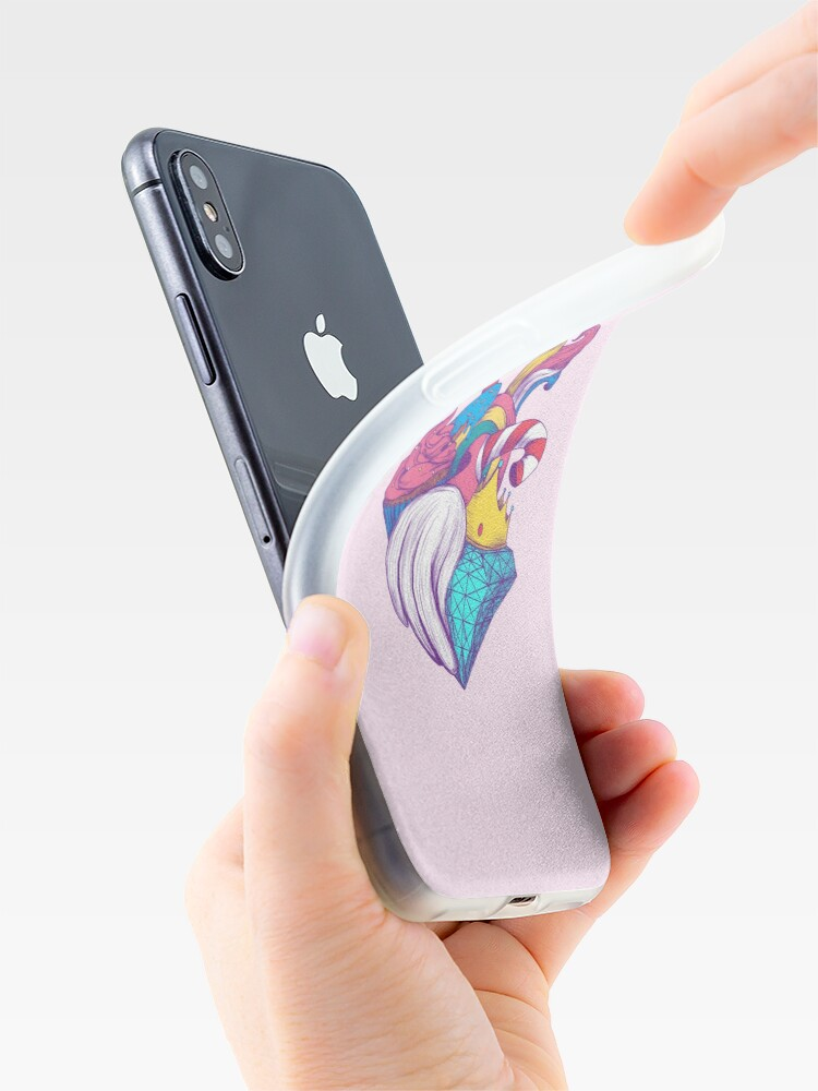 Alternate view of UNICORN HEART iPhone Case & Cover