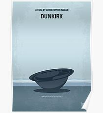 No905 My Dunkirk minimal movie poster Poster