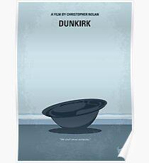 No905 My Dunkirk minimales Filmplakat Poster