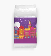 Edinburgh street Duvet Cover