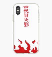 tshirt yondaime hokage iPhone Case