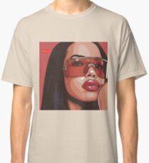 Aaliyah Artwork Classic T-Shirt